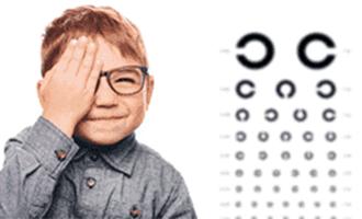 お子様の眼の異常について