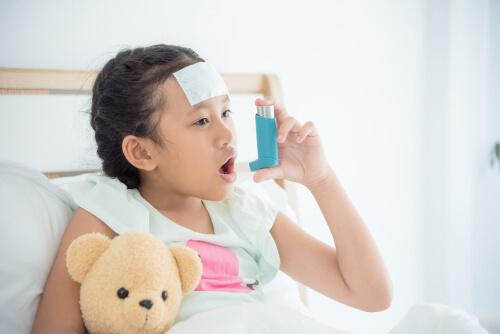 乳幼児喘息